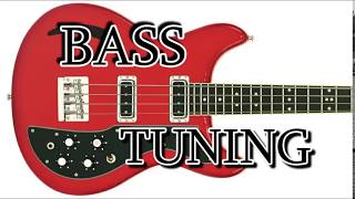 4 string bass guitar tuner (e-a-d-g)