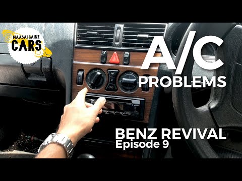 Air Conditioning Gremlins on my 1996 Mercedes-Benz W202 [MGC Ep. 21]