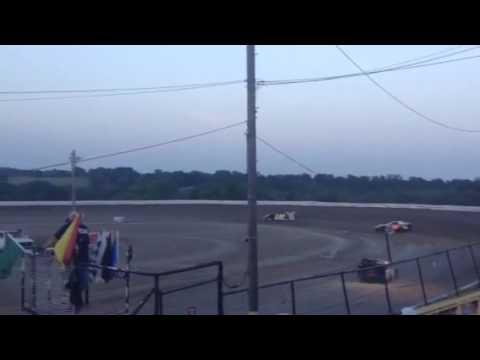Roy Capps Sport Mod Heat Race 7-2-16 Grayson County Speedway