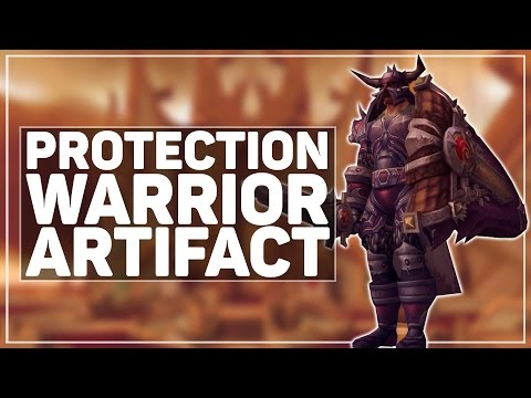 WoW Legion: Protection Warrior Artifact - HAIL ODIN