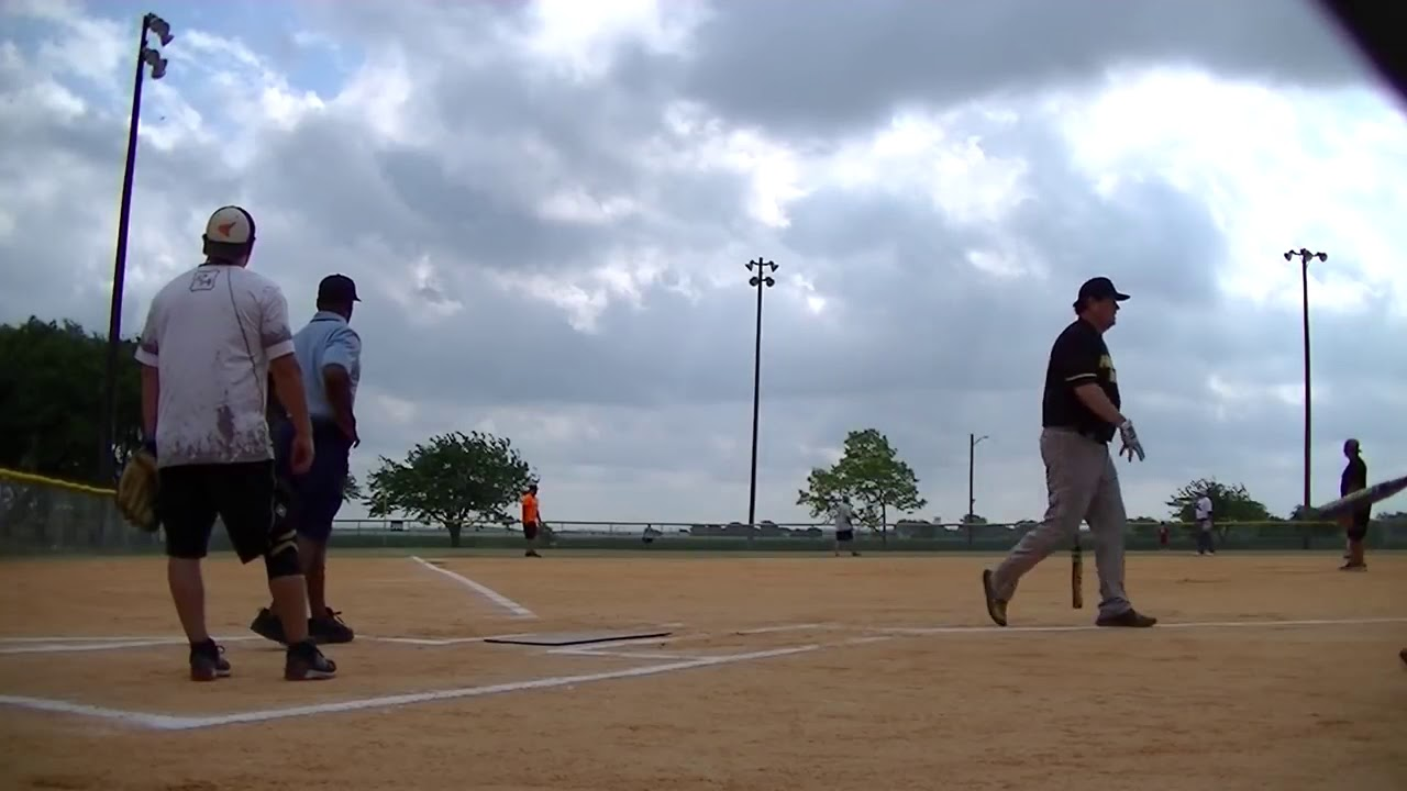 Senior Softball Billy Blake's 520' Bomb