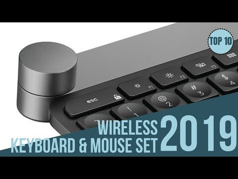 Best Selling 10 Wireless Keyboard And Mouse Combo Of 2019 / Keyboard With Touchpad