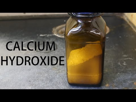 How to make Calcium Hydroxide (Ca(OH)2)