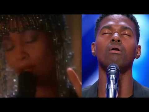 Whitney Houston Johnny Manuel - I Have Nothing - Duet Mash Up