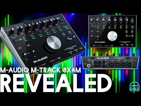 M-AUDIO M-TRACK 8X4M | REVEALED (Full Overview, Setup, & Demo)