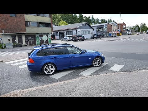 BMW 320D E91 отзыв владельца для ненавистников BMW
