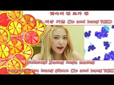 Red Velvet - Red Flavor [ Karaoke / Instrumental Backing Vocal ]