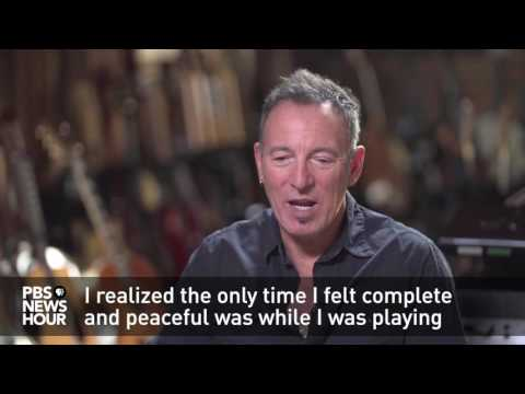 Bruce Springsteen on how his depression fueled his music