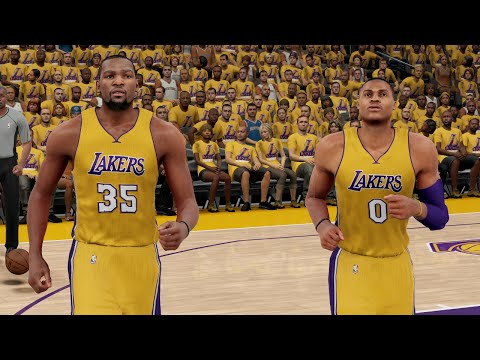 What If Kevin Durant And Russell Westbrook Signed With The Lakers?