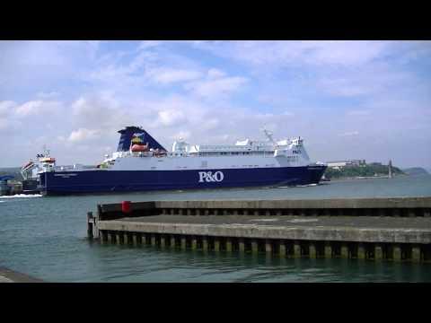 P&O European Causeway Departing From Larne Harbour