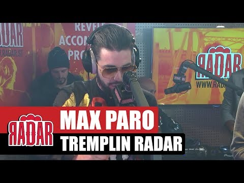 Youtube: RADAR présente MAX PARO, le nouveau talent du 93!