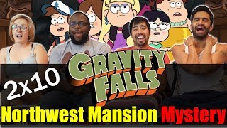 Gravity Falls - 2x10 Northwest Mansion Mystery - Group Reaction