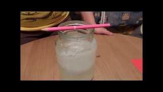 Кристаллизация соли.