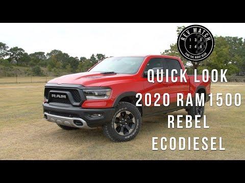 Quick Look: 2020 RAM 1500 Rebel EcoDiesel