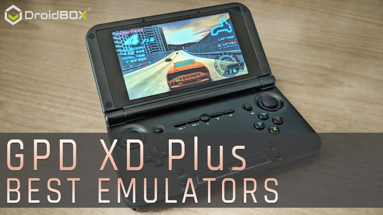 10 best emulators for the GPD XD Plus Android handheld inc SNES, Dreamcast,  N64, PSP, DS & many more