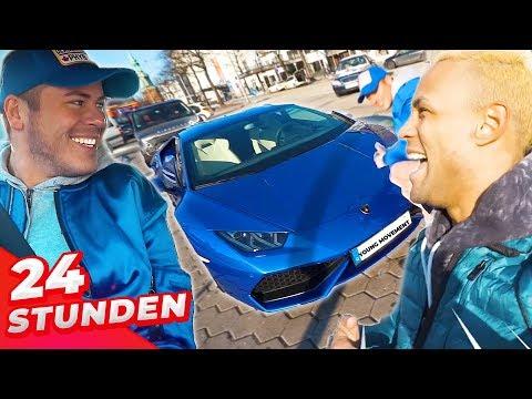 24 Stunden im Lamborghini   Die XXL Challenge