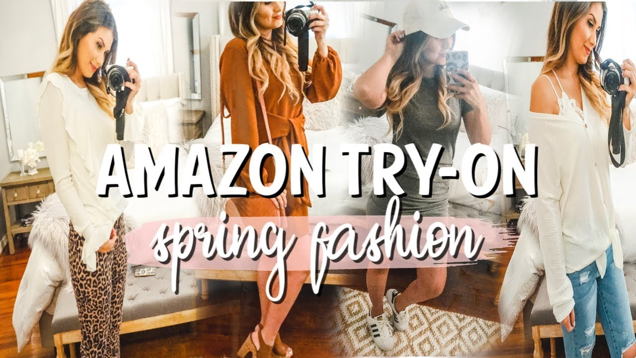 [VIDEO] - AMAZON TRY ON HAUL   SPRING FASHION 2019 2