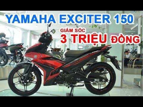 Giá Yamaha Exciter 150 giảm sốc tới 3 triệu đồng