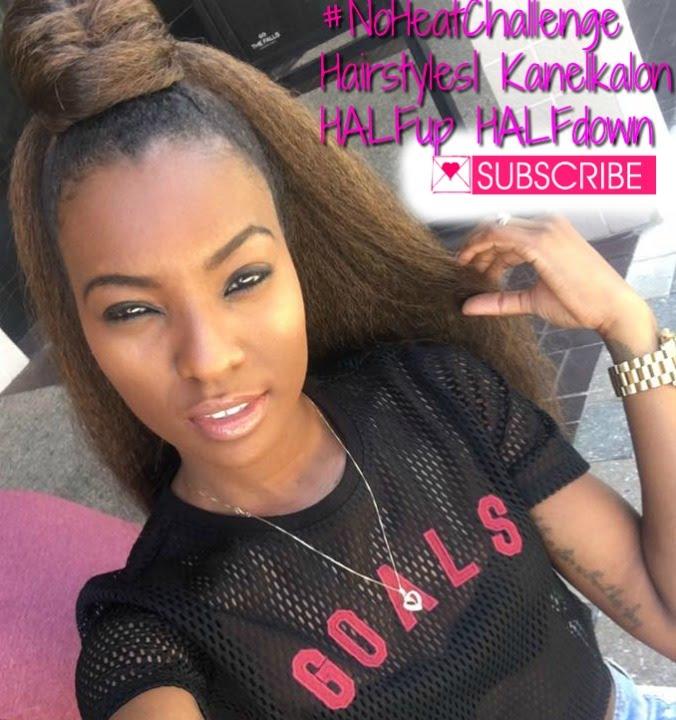 Protective Hairstyles using Kanekalon Hair - YouTube