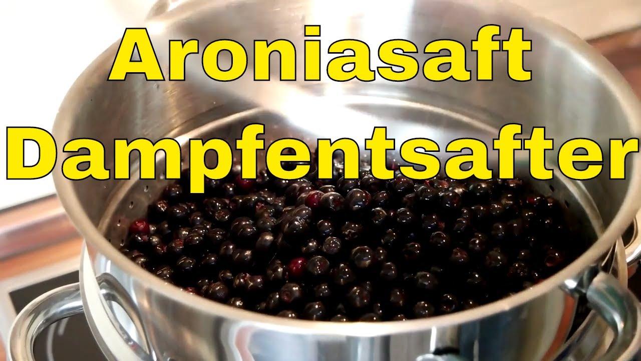 aronia saft recept