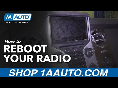 How to Reboot Radio 11-16 Ford F250