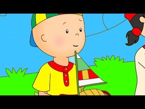 Funny Animated cartoons Kids  Captain Caillou  WATCH ONLINE  Christmas Cartoons for children