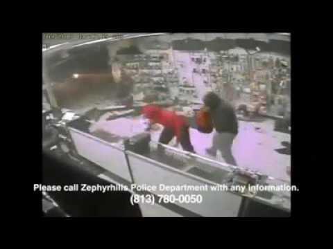 Truck drives through gun store in Zephyrhills, Florida, heist