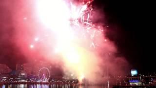 Sydney Darling Harbour Fireworks - May 7, 2016