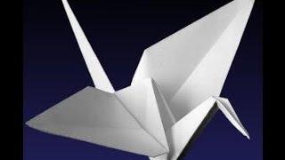 تعلم طريقة عمل طائر يرفرف بجناحيه عن طريق طى الورق | فن الاوريجامى