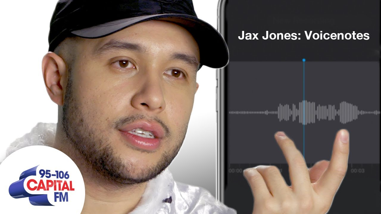 Jax Jones Leaks Unreleased Songs From His Phone | Voicenotes | Capital
