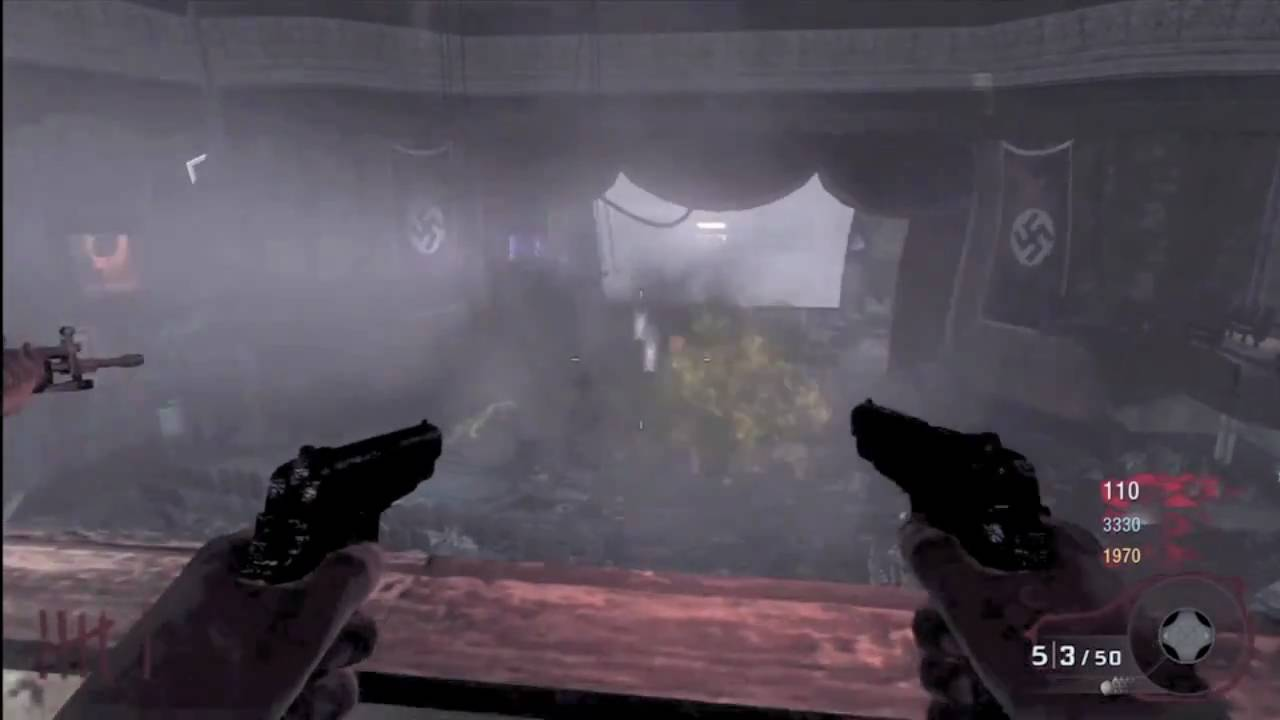 Black Ops Mustang And Sally Gameplay On Kino Der Toten