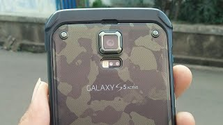Samsung Galaxy S5 Active Docomo/TEST Waterproof/Tahan Air #INDONESIA