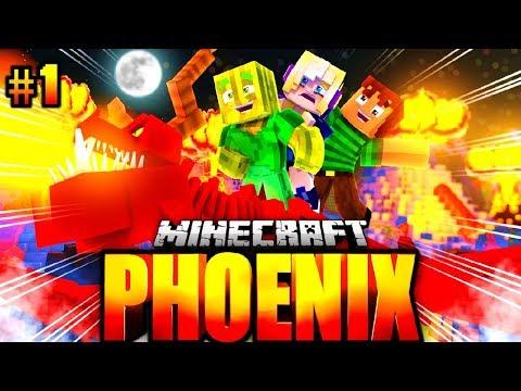 RONJA, FLO und TOBBSS?! - Minecraft Phoenix #001 [Deutsch/HD]