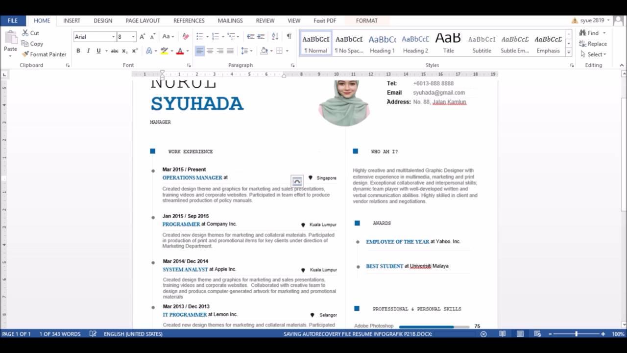 tutorial siri resume infografik pb tutorial siri 3 resume infografik p21b