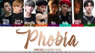 STRAY KIDS - 'PHOBIA' Lyrics [Color Coded_Han_Rom_Eng]
