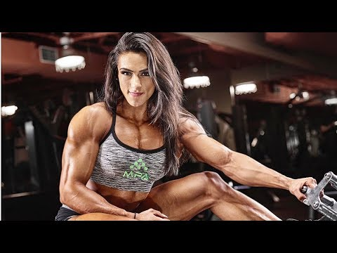 Fbb Muscles Girl | Natalia Abraham | Female Bodybuilding | Gym Workout