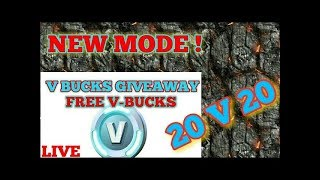 Fortnite V BUCKS GIVEAWAY EN direct