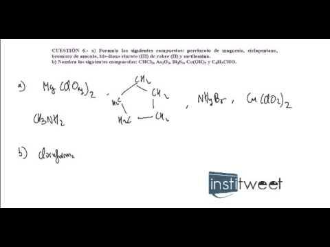 Ejercicio Resuelto Formulación Química