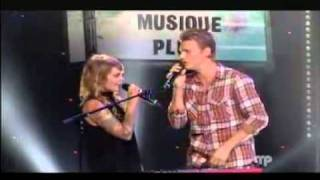 Nick Carter and Cœur de Pirate sing - I want It That way