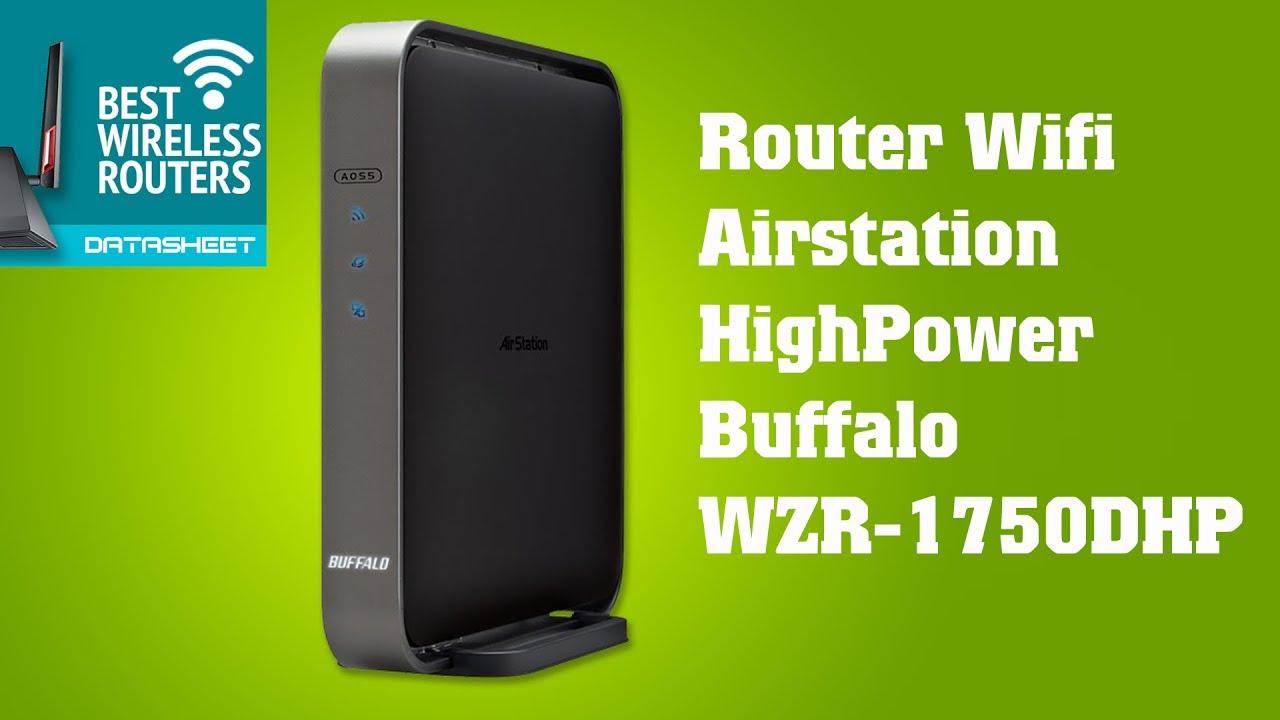 Buffalo WZR-1750DHP Router Driver Windows 7