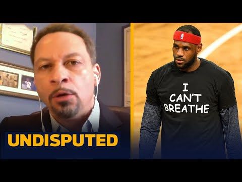 LeBron decides not to wear a social justice message on his jersey — Broussard reacts | UNDISPUTED