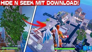 HUGE SEARCH & VERSTECKEN MAP with DOWNLOAD CODE! | Fortnite Creative Mode