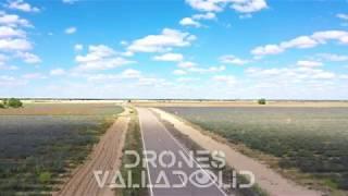Carretera rural - Drones Valladolid