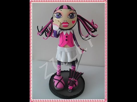 TUTORIAL FOFUCHA DRACULAURA MONSTER HIGH Videos De Viajes