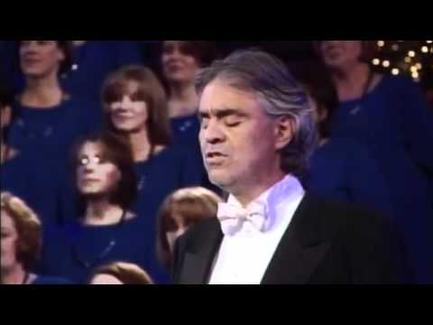 Andrea Bocelli and The Mormon Tabernacle Choir - The Lord's Prayer