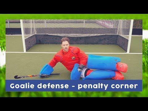 Defending Penalty Corner Tutorial - Goalkeeper Technique   HockeyheroesTV