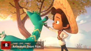 "CGI 3D Animated Short Film ""HOLA LLAMIGO"" Cute Animation by Ringling College"