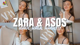 SPRING NEW IN ZARA & ASOS HAUL & TRY ON!!! 💐   Ames Banks