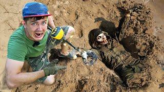 Нашли зомби и другие жуткие находки с помощью металлоискателя