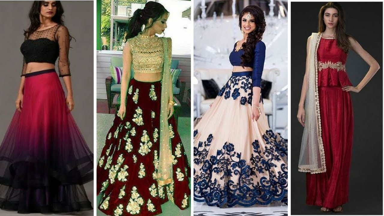 picture 30 Trendy Beautiful Crop Top Bridal Outfits